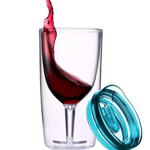TRAVINO WINE SIPPY CUP- Blue