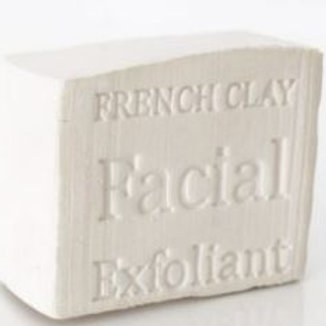 Clay Block For Face (white) 100g