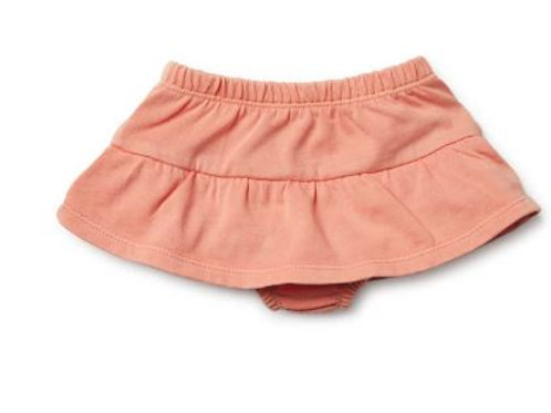 copy of PEACH PEARL NAPPY PANT WITH RUFFLE- SIZE 00
