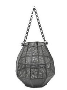 BLACK MESH HURRICAIN LAMP