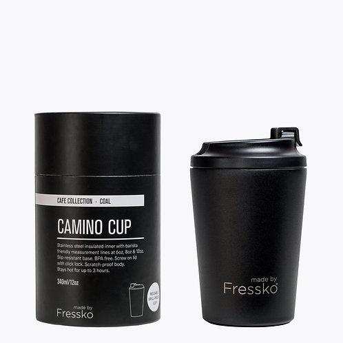 CAMINO COAL 340ML REUSABLE COFFEE CUP