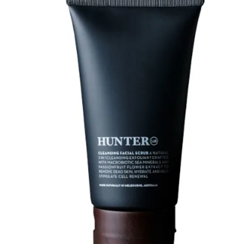 Hunter cleansing facial scrub