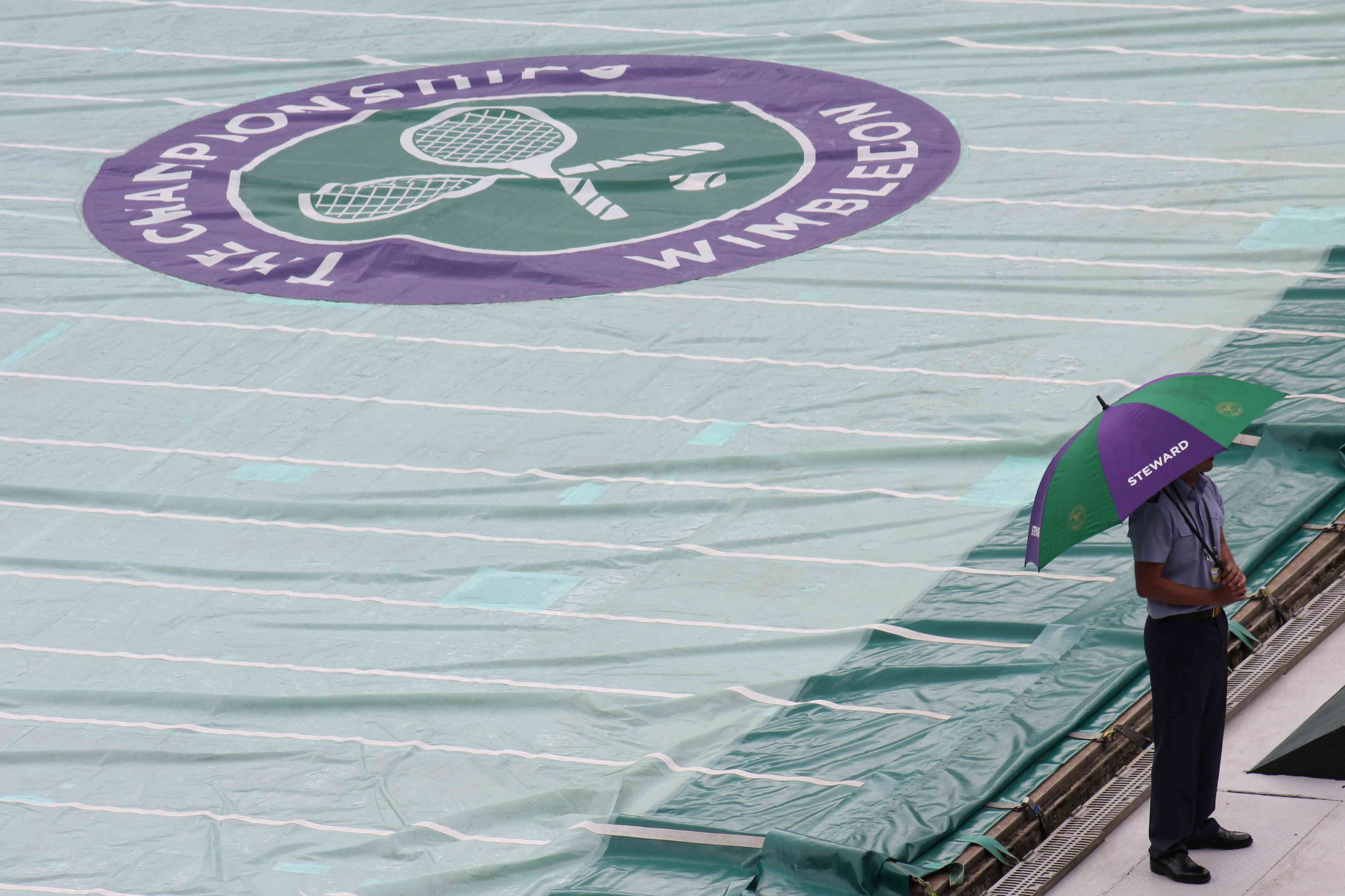 Wimbledon Cover and brolly