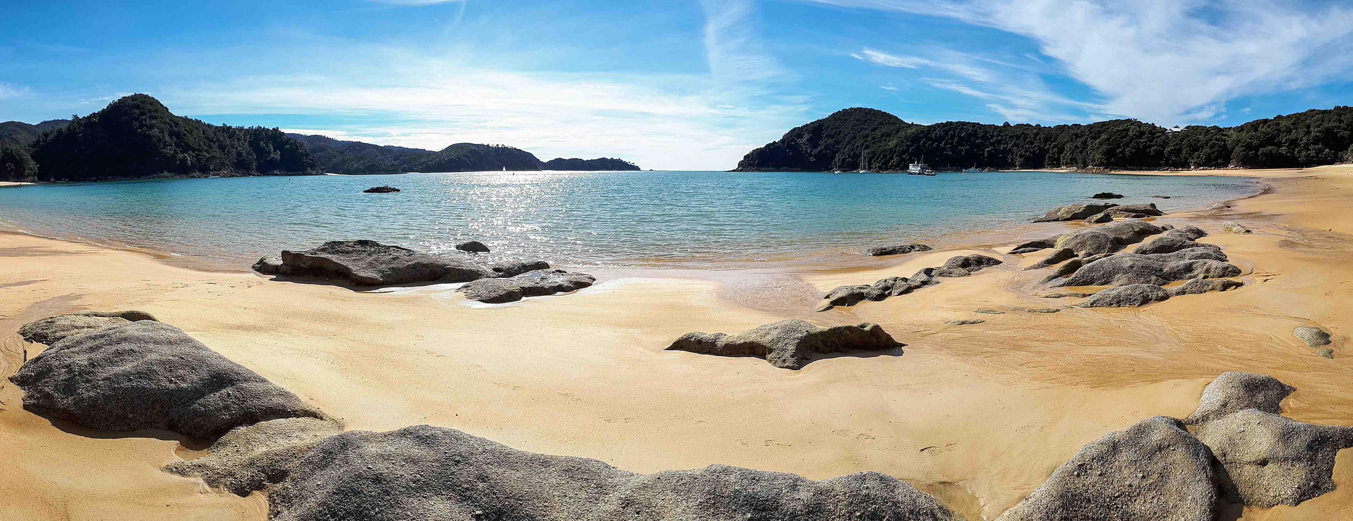 Anchrorage Beach, Abel Tasman NZ