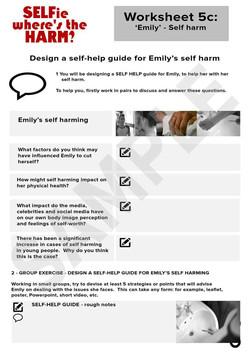 SELFie 5c - Emily - Self harm