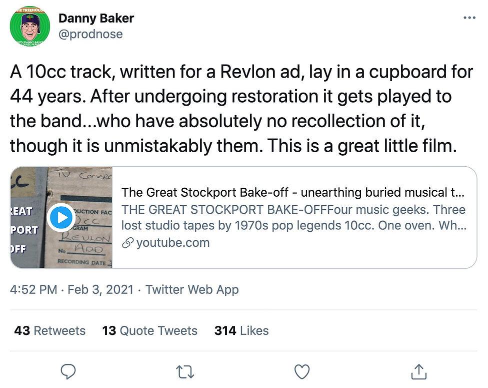 Danny Baker 10cc Bake-off tweet.jpg