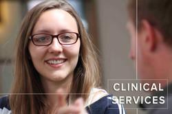 Web home page menu - Clinical