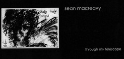 Sean Macreavy Through My Telescope - front and back covers