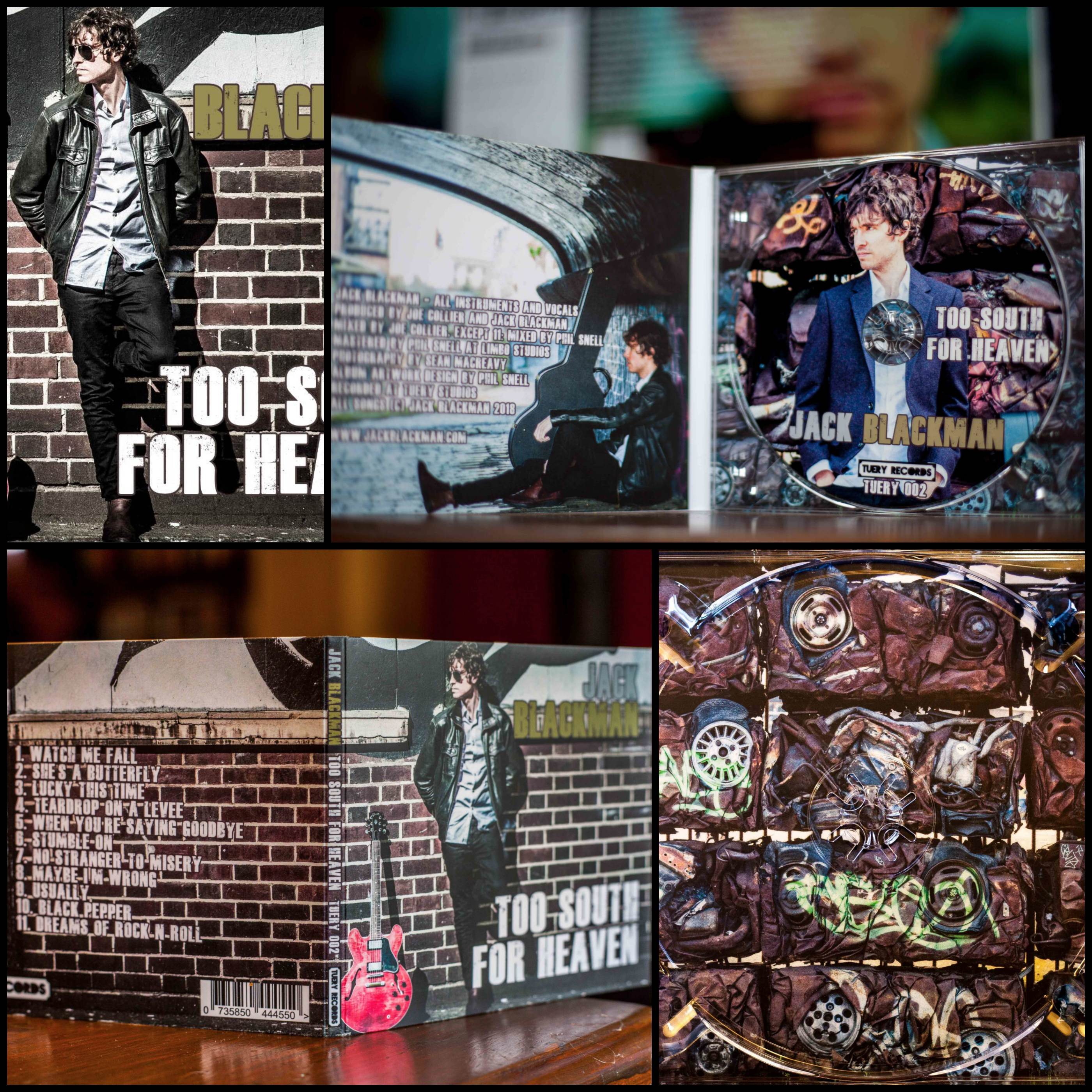 JB album collage