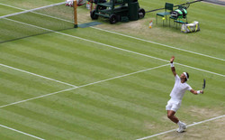 Wimbledon NADAL SERVE Fotor