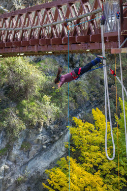Bungee jump, near Arrowtown NZ
