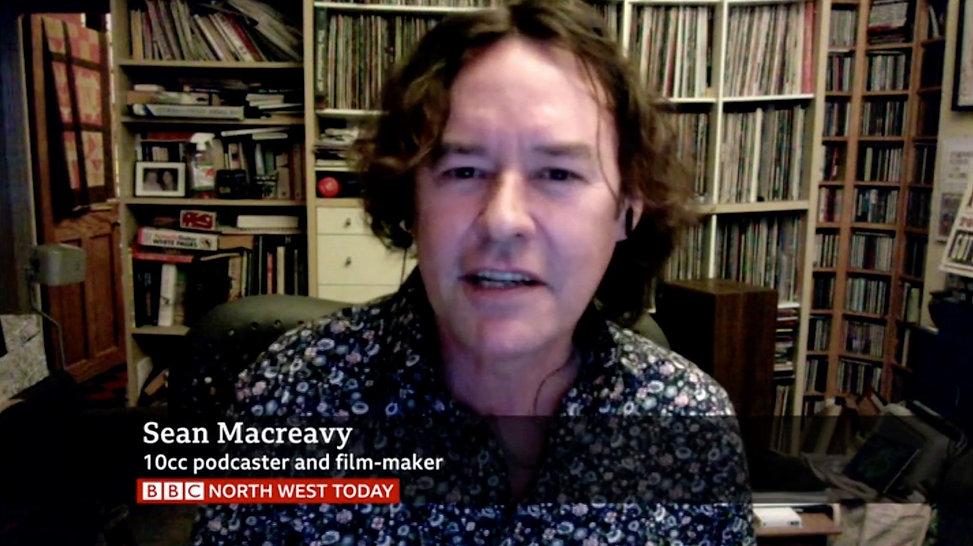Sean Macreavy 10cc bake-off BBC North We