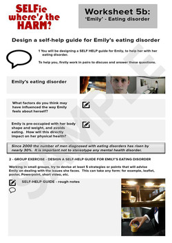 SELFie 5b - Emily - Eating Disorder
