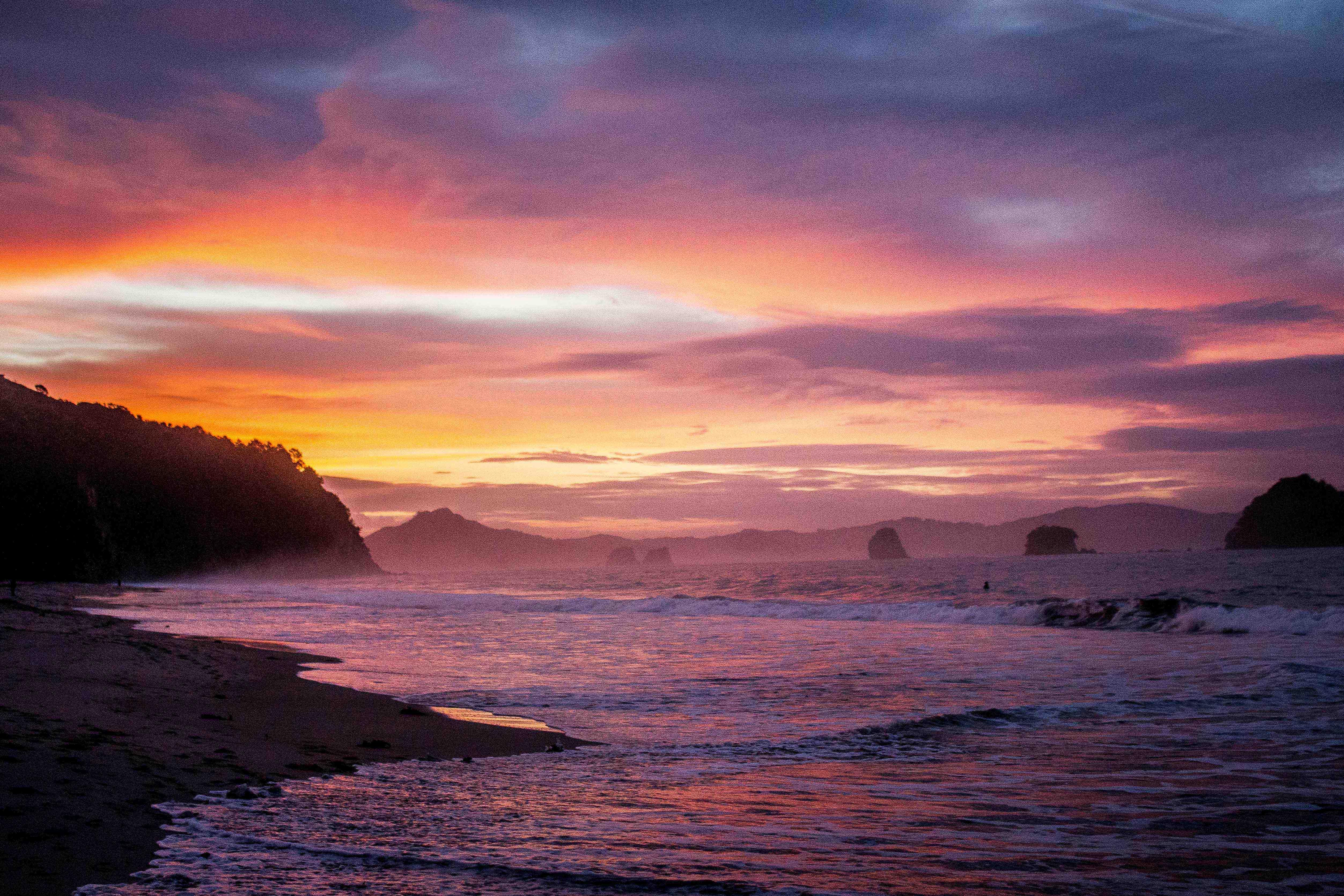 Hahei Beach sunset-9197 copy