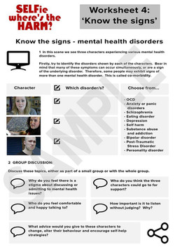 SELFie 4 - Know the signs v2