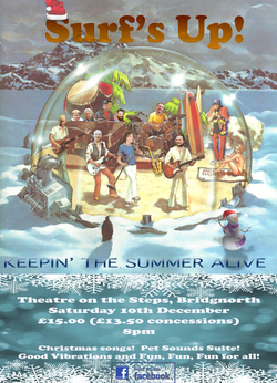 Surf's Up Keepin' the Summer Alive poster