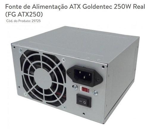 Fonte de Alimentação GT 250W REAL ATX