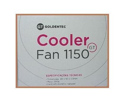 Cooler Goldentec GT FAN1150 para Soquetes 1151/ 1150/ 1155/ 1156