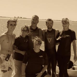 Team Help: Tuck Helmick, Terry Helmick, Eric Helmick, Hunter Helmick, Cydney Simpson, Laura Ronalds (kneeling)