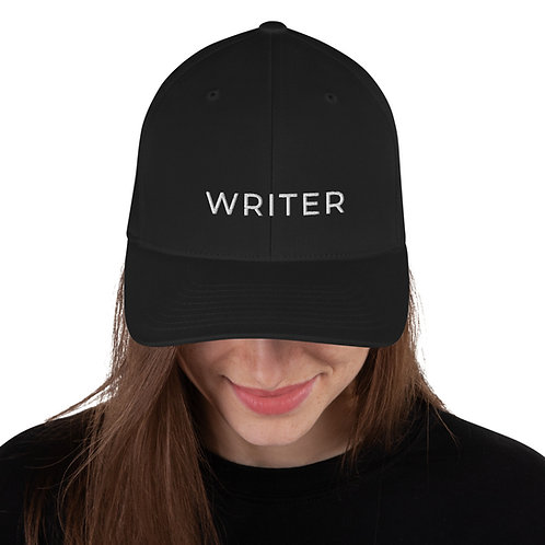 Structured Twill Cap w/ WRITER text copy