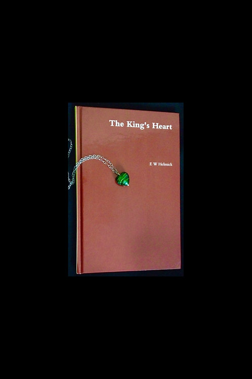 The King's Heart | Hardcover book w/ Heart Necklace