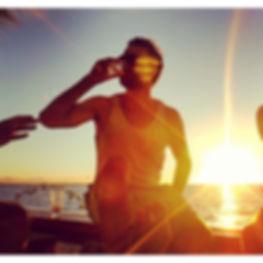Mokus on the beach