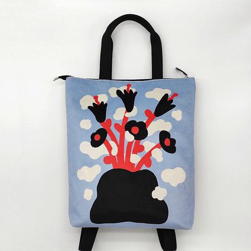 Flowers for thursday! Big backpack