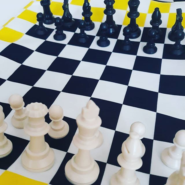 Zaino art chess board