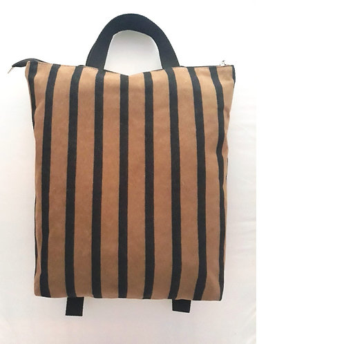 Stripes tobacco backpack