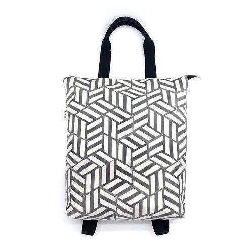 zaino pattern gray