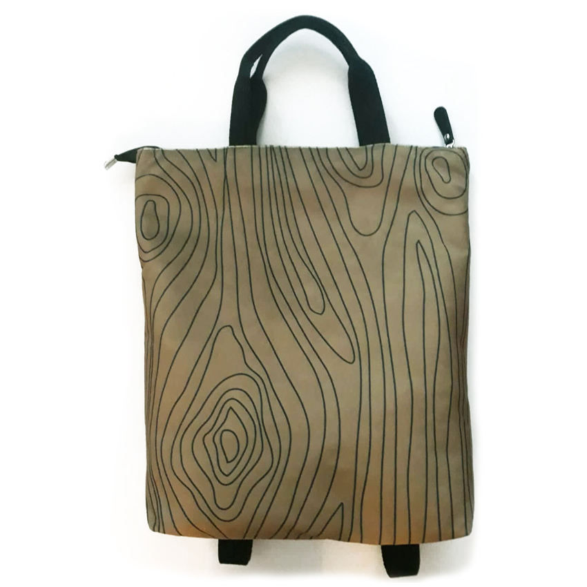 Zaino art minimal wood