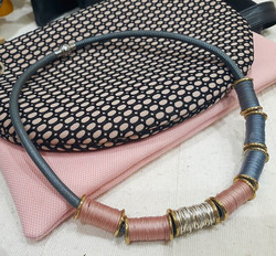 Ocho necklace and ochobags
