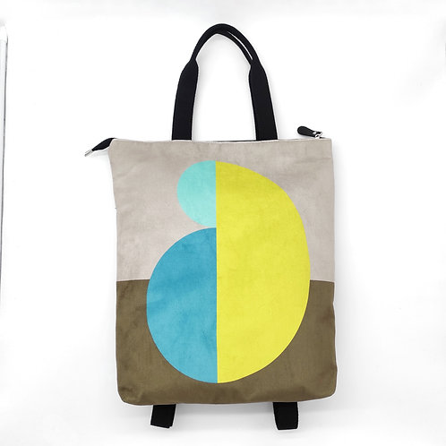Big backpack Art , Mami .