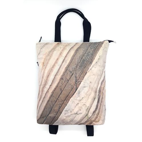 frontale zaino art marmo corteccia