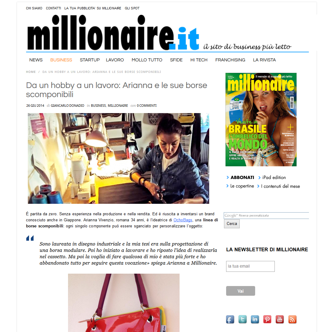 millionaire web