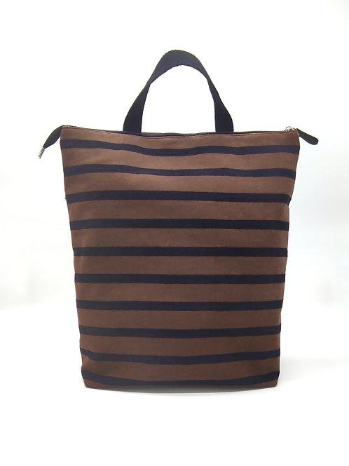 Stripes tobacco backpack 2