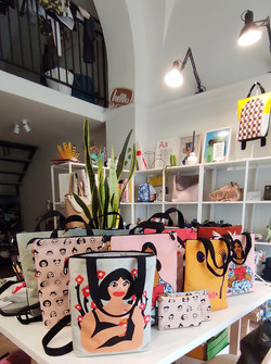 new capsule collection with Marja de Sanctis illustrator