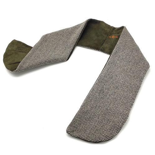8 sweatband Green leather