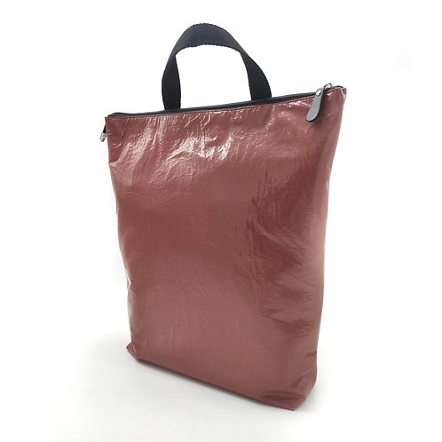 Glossy lipstick backpack.