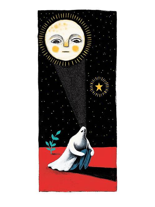 'Melancólie De Lune' Original Framed Artwork