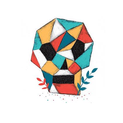 'Crystal Skull' Print