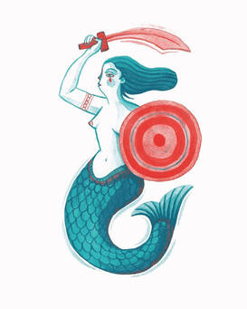 'Battle Mermaid II' (2020)