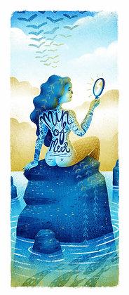'Min of Meer' print