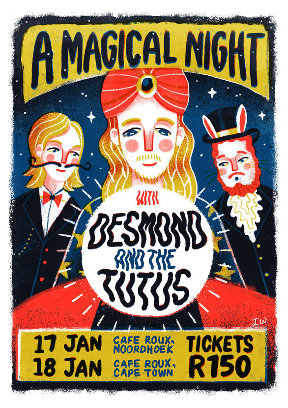 A Magical Night with Desmond & The Tutus (2018)