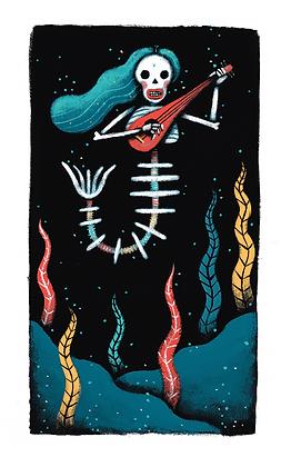 'The Little Merdead' Print