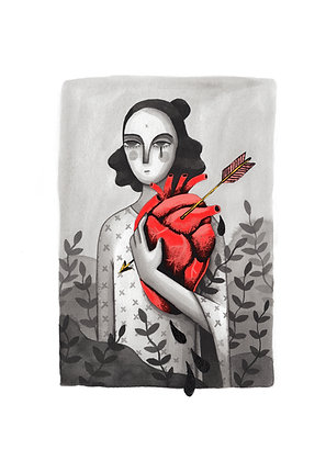 'Hardest of Hearts' Print