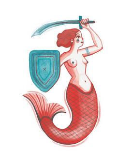 'Battle Mermaid I' (2020)