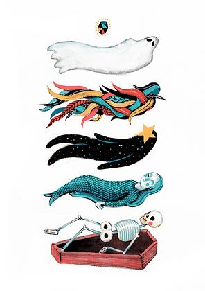 'Rebirth' Print