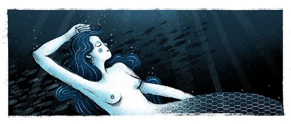 'Sink' Print