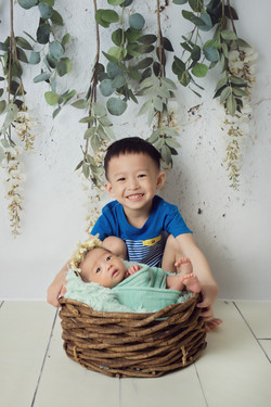 Baby Tze Xuan ~ 21days old